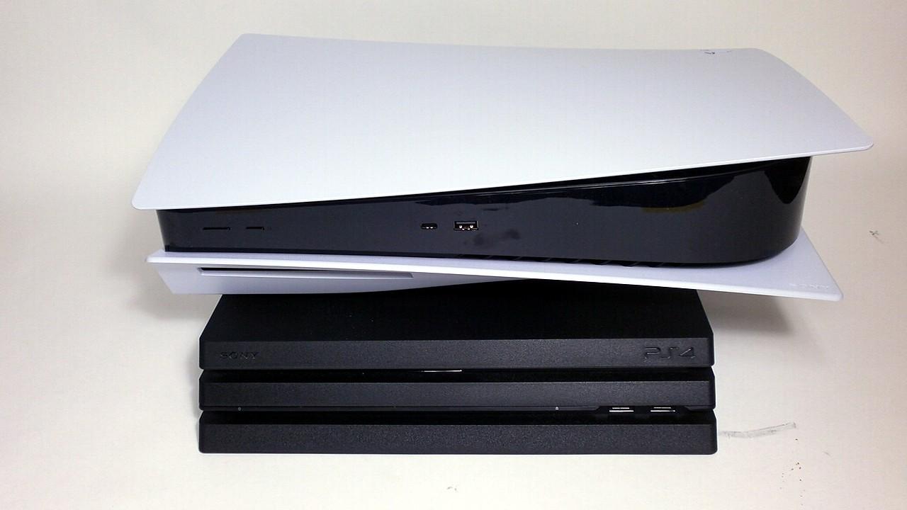 PS4とPS5の比較